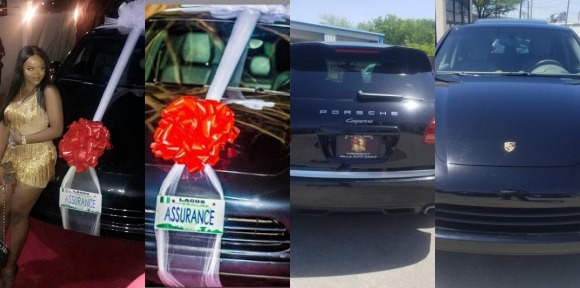 Insider: Davido bought second hand Porsche car for Chioma.. He didn't buy it for N45m