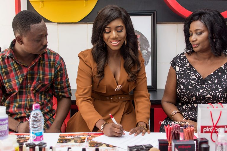 Victoria Lebene Inks New Deal As Ambassador For Pineapple Cosmetics
