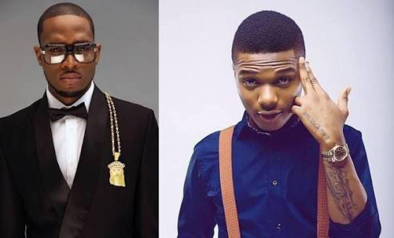 See What Heartbroken Wizkid Just Posted About The Death Of D'banj's Son [Photos]