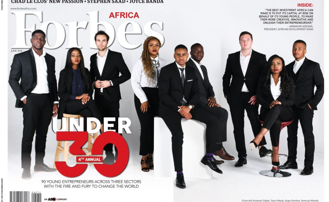 Forbes Africa's releases 2018's 30 Under 30 List, Wizkid, Davido, Falz, Yemi Alade, Sarkodie, Others Make list