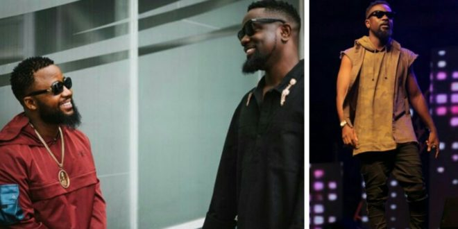 Cassper Nyovest Gives Sarkodie A New Title In South Africa & It's Lovely