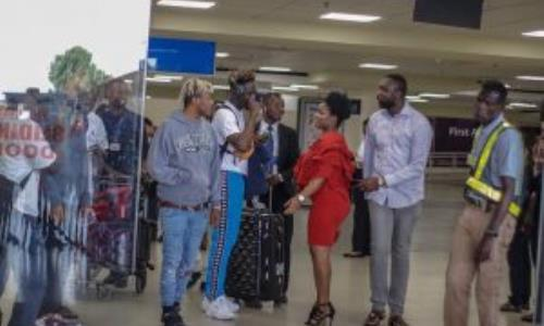 Ghana Meets Naija: Mr Eazi, Dice Arrive In Accra