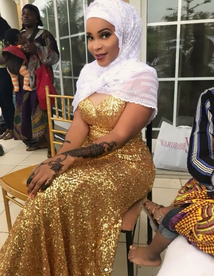 Benedicta Gafah Shines In Outfit For Eid-ul-Fitr