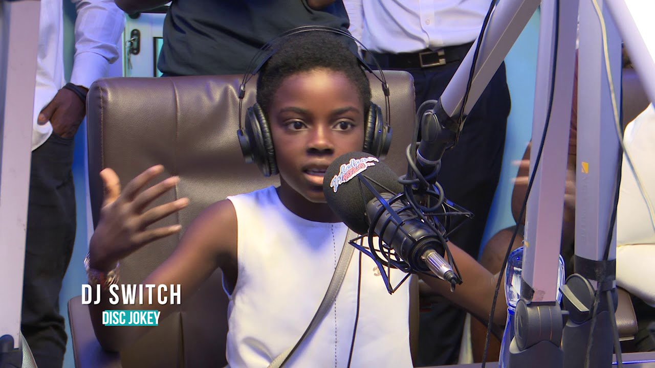 Youngest Female DJ Switch Featured On BBC's What's New show