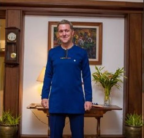 I'm More Comfortable Wearing African Prints In Ghana Than Suits- UK High Commissioner