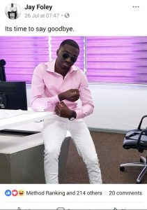 It's Over !! Jay foley parts ways with Live Fm