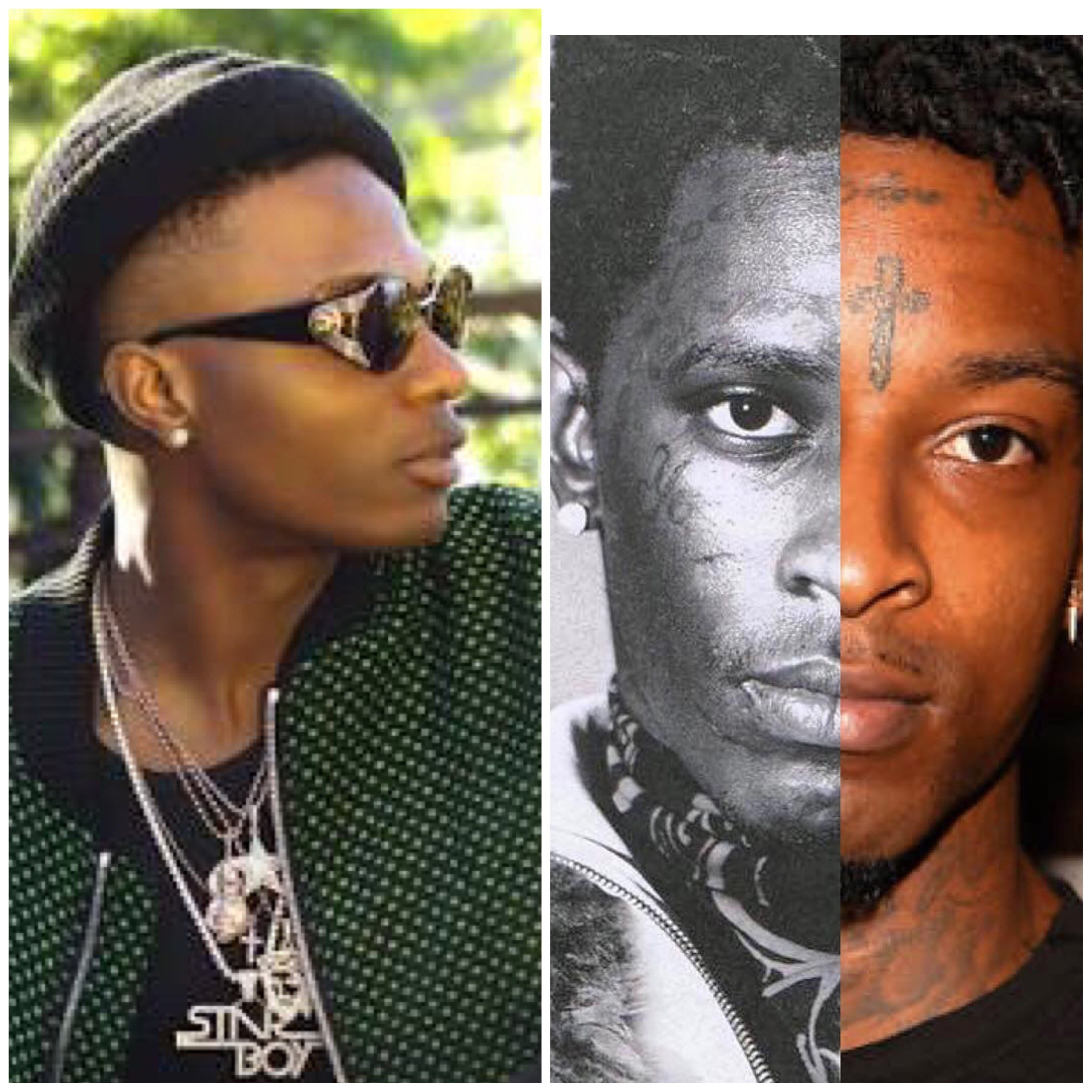 American Rapper Young Thug Comes For Wizkid On Instagram… See What He Wrote Under Wizkid's Pic [See Inside]