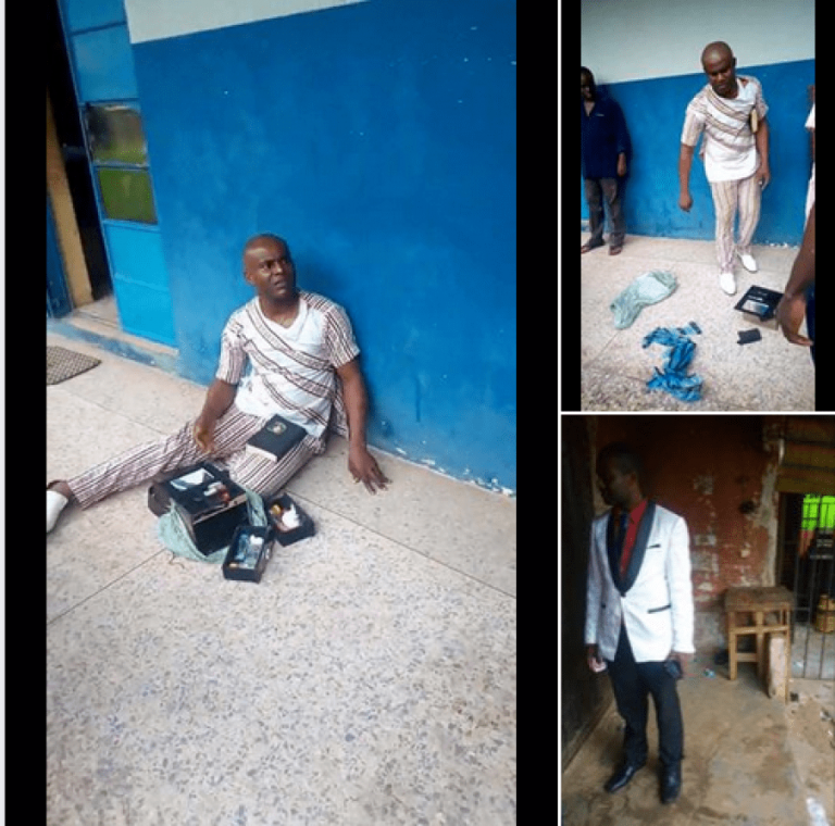 Endtime!! Popular Pastor Arrested After Being Allegedly Caught With Charms While Preaching [Photos]