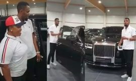 Video: Rev Obofour shows off his $450k 2018 Rolls Royce Phantom