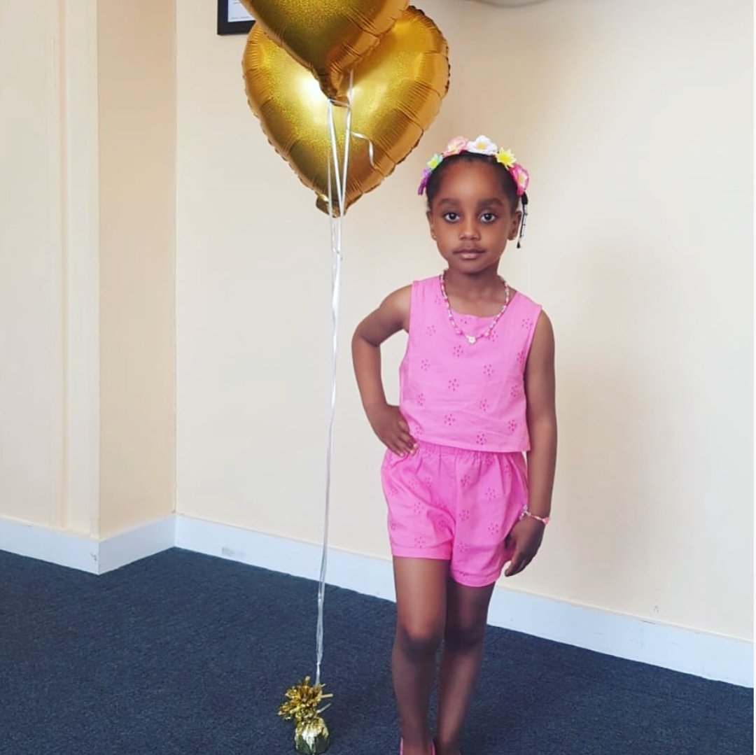 Asamoah Gyan Celebrates Daughter's 4th Birthday