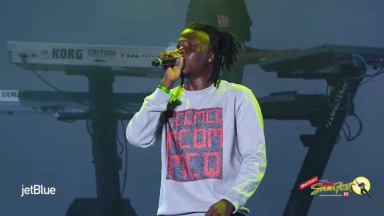 VIDEO: Stonebwoy Rocks Stage With  Samini At 'SaminiFest' 2018