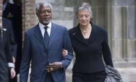 Dr Kofi Annan's Wife Finally Reacts About his husband's death
