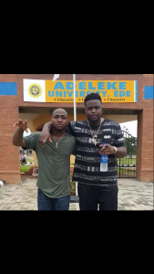 Davido's Brother, Adewale Adeleke Slams This Student Schooling At Their Father's University For This Reason