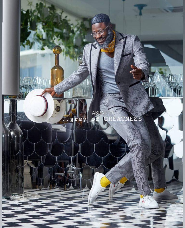 Abrantie The Gentleman Unveils 'Grey Of Greatness' Collection