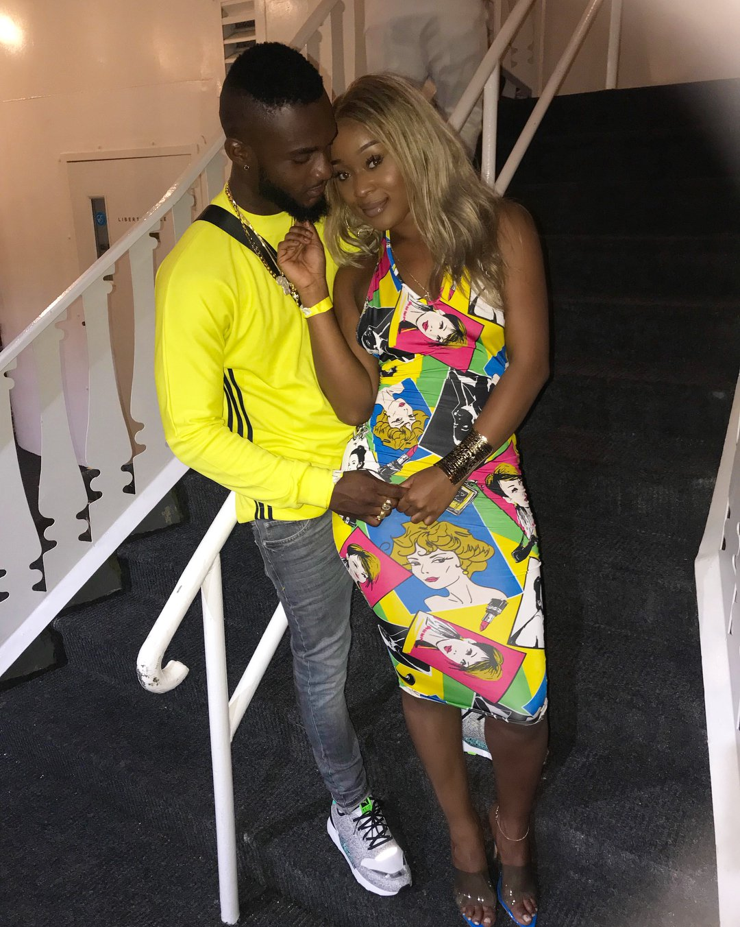 Efia Odo Posts New Love'd Up Photos With Boyfriend