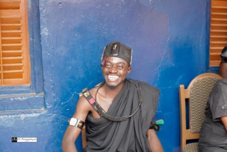 Photos From Kwadwo Nkansah Lil Win's Enstoolment As Nkosuohene