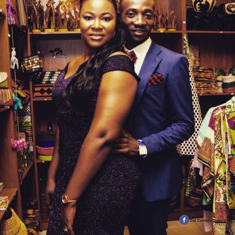 Oboy Salinko Shows Off Beautiful Wife On 1st Wedding Anniversary(PHOTOS)
