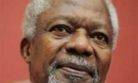 The remains of former UN Secretary General, Kofi Annan, will arrive in Ghana Today