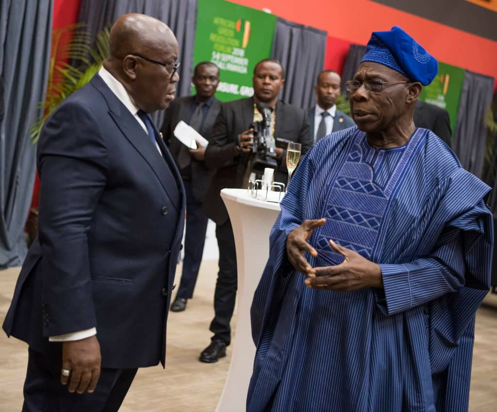 *Photos: President Akufo-Addo attends the Africa Food Prize Gala Dinner.* ??????