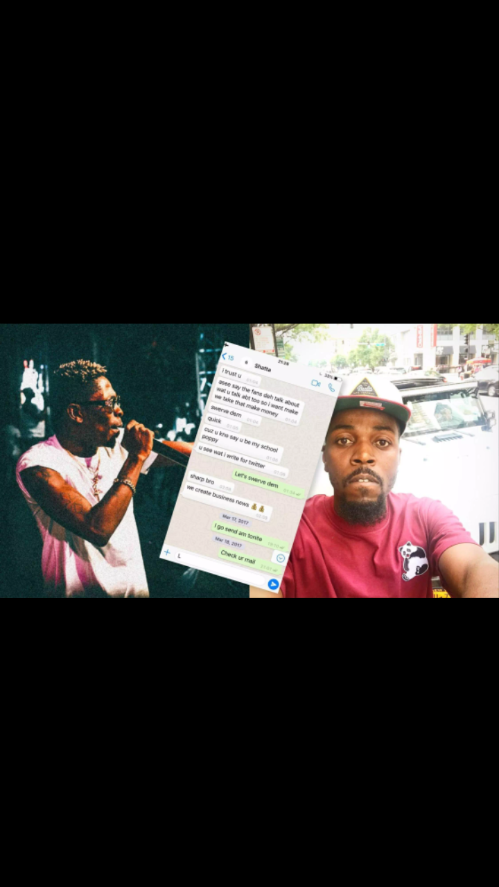 Kwaw Kese Leaks Whatsapp Chat Of Shatta Wale Begging For Collabo