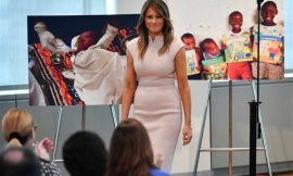Melania Dragged For Photo Op With Baby In Ghana While There Are Still Kids In Trump's Border Cages