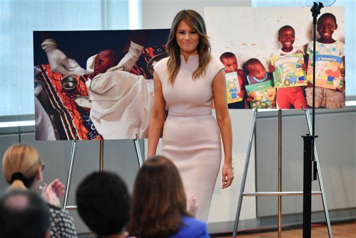 Melania Trump begins Africa tour today