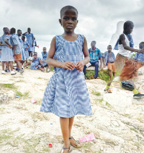 Six-year-old girl makes history by climbing Mount Afadja