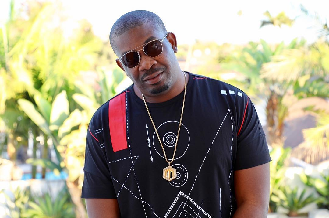 See what Don Jazzy and Toke Makinwa were caught doing