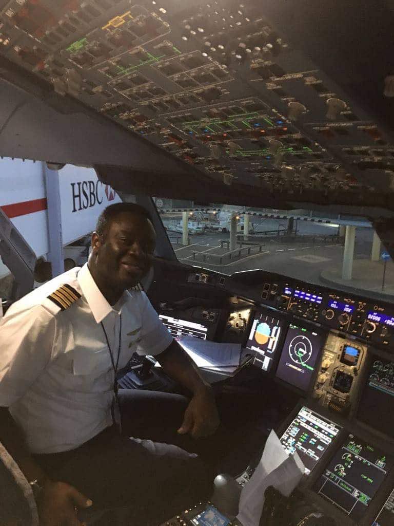 Captain Quainoo Makes Flight Announcement In Twi( Ghanaian language)