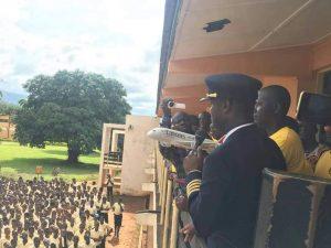 PHOTOS: Ghanaian pilot Capt Quainoo Visits His Alma Mata (KSTS)