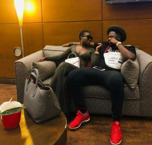 Medikal & Fella Makafui Dating Rumours Thickens As He Shares New Photo & Blocks Fans From Commenting