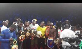 Boxing: Emmanuel Tagoe Retires Paulus Moses, Claims WBO Belt