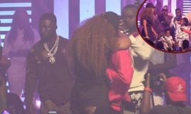 WATCH VIDEO: Shatta Michy Accepts Shatta Wale's Proposal With A Long Kiss