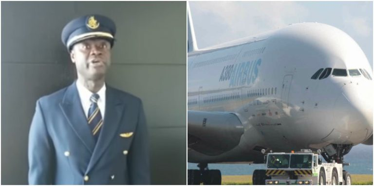 Ghanaian pilot, Captain Quianoo to fly World's biggest aircraft to Ghana