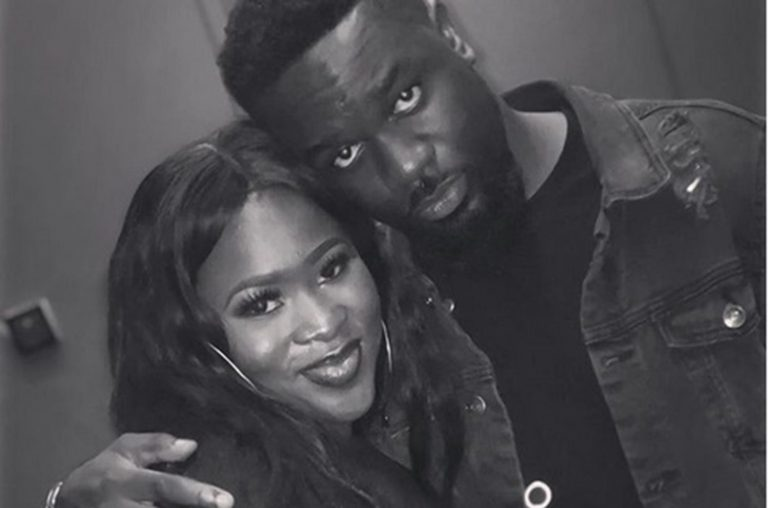Sarkodie and Sista Afia Hit The Studio For A New Song
