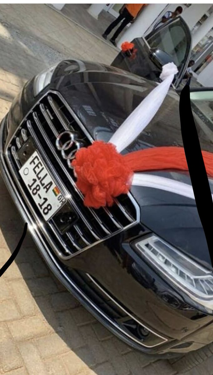 (Video+Photo)AMG Medikal Just Bought Her New babe Fella Makafui A New Audi A8 Car