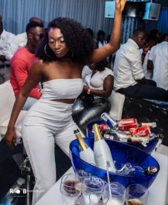 PHOTOS: Wendy Shay Party Hard At DJ Mensah's All White Party