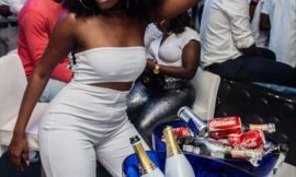 PHOTOS: Wendy Shay Party Hard At DJ Mensah's All White Party