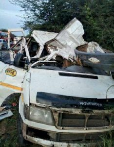 Photos: 6 dead in fatal accident at Gomoa Mpota junction