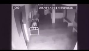 CCTV camera catches soul leaving dead body after death