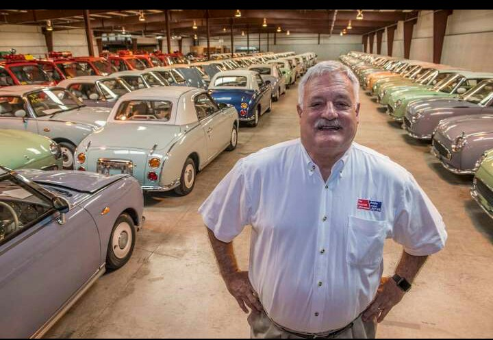 The American car dealer with 700 Japanese classics