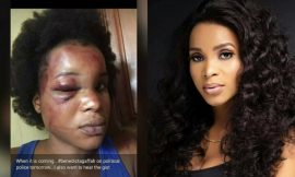 Benedicta Gafah finally speaks on how she was beaten by her ex