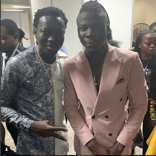 Comedian, Michael Blackson Says Stonebwoy Is God's Gift