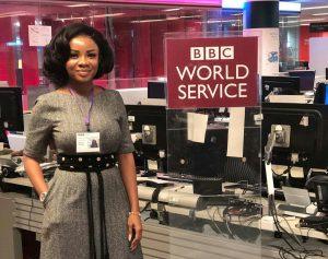 GhOne TV's Serwaa Amihere Tours BBC World Service(PHOTOS)