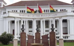 Breaking – Justice Dery, two other high court judges Sacked from office