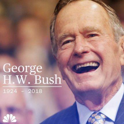 George H.W. Bush passed at 94