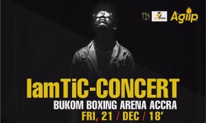 Tic To Hold 'IamTiC Concert' Come Dec 21