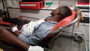 Policemen Beat Blogger At BHiM Concert For Taking A Video Of Asamoah Gyan