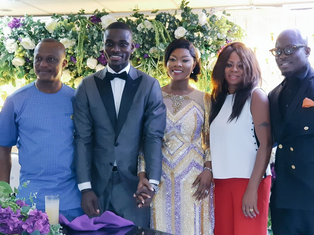 Footballer Jonathan Mensah Ties The Knot