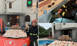 Chinese 24 year old Bitcoin Millionaire Wong Ching Kit Flaunt Cash On His Car